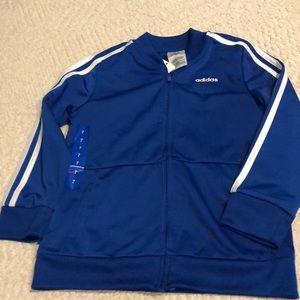 Adidas boys jacket size 7